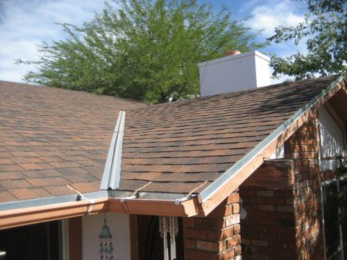 30YR Shingle-New Roof at Valley-Wildcats Roofing