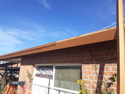 Standing seam metal roof Copper Penny 3