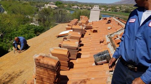 Wildcats Roofing LLC clay tile roof