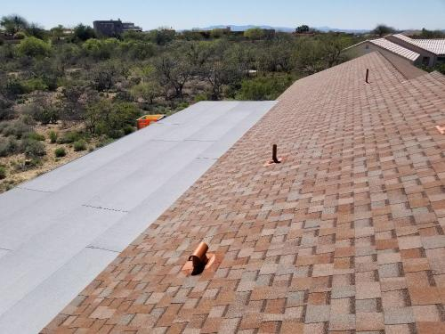 wildcats roofing shingle and flat roof
